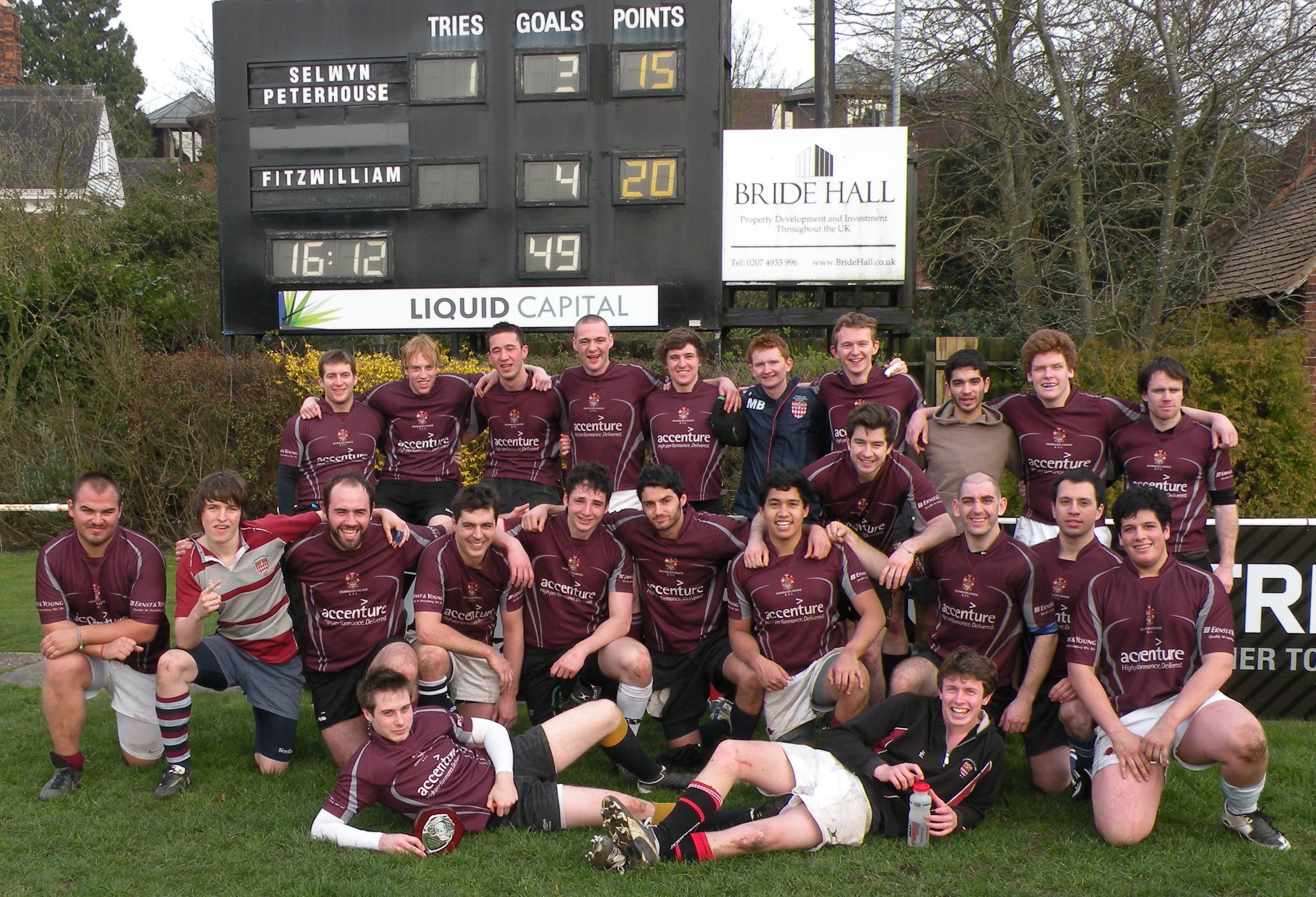 Fitz Mens Rugby Team